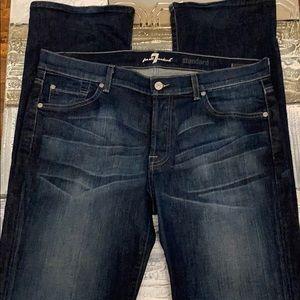 BOGO-  7 for all mankind blue jeans - 33